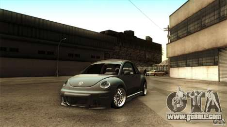 Volkswagen Beetle RSi Tuned for GTA San Andreas right view