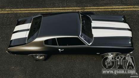 Chevrolet Chevelle SS 1970 v1.0 for GTA 4 right view