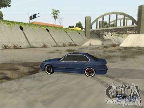 BMW M5 E34 V2.0 for GTA San Andreas right view