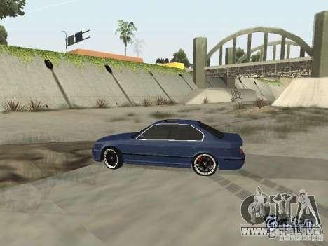 BMW M5 E34 V2.0 for GTA San Andreas right view