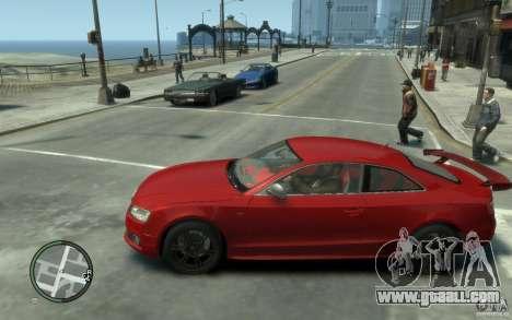 Audi S5 v2 for GTA 4 left view