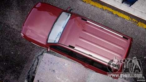 Toyota Land Cruiser 100 Stock for GTA 4 inner view