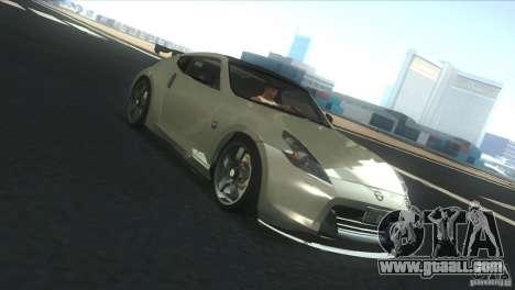 Nissan 370Z Drift 2009 V1.0 for GTA San Andreas side view