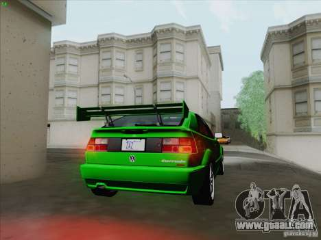 Volkswagen Corrado 1995 for GTA San Andreas back view