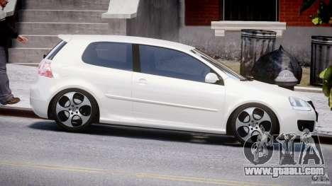 Volkswagen Golf GTI 2006 v1.0 for GTA 4 inner view