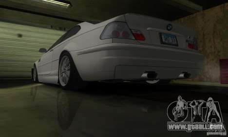 BMW M3 Tuneable for GTA San Andreas side view