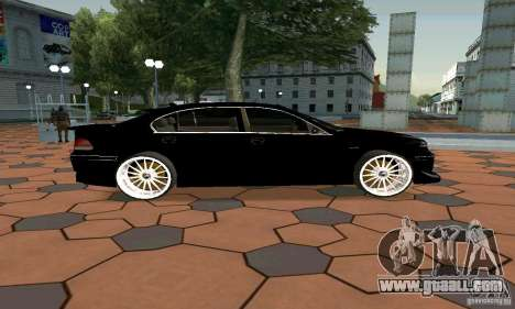 BMW 760LI for GTA San Andreas left view