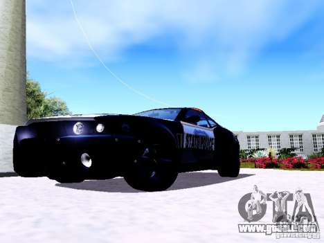 NFS Undercover Cop Car MUS for GTA San Andreas left view