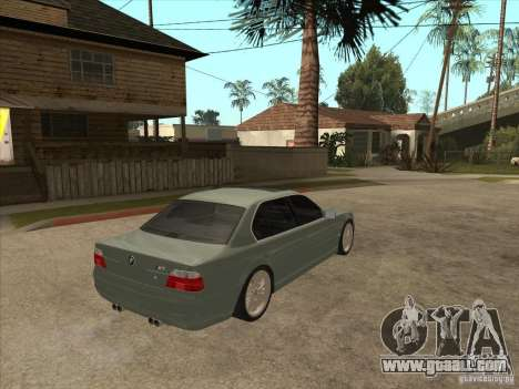 BMW E38 M7 for GTA San Andreas right view