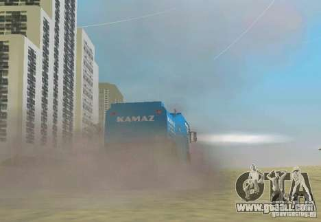 Kamaz Master for GTA Vice City left view