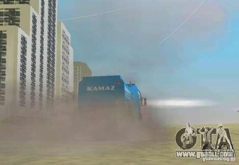 Kamaz Master for GTA Vice City left view