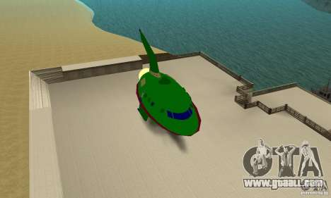 Planet Express for GTA San Andreas back left view