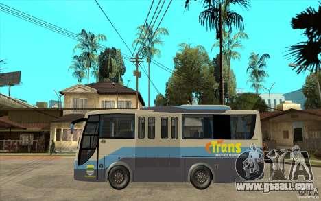 Hino Evo C for GTA San Andreas left view