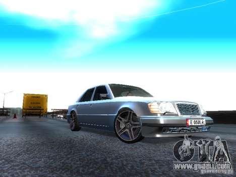 Mercedes-Benz E500 W124 for GTA San Andreas
