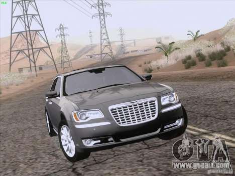 Chrysler 300 Limited 2013 for GTA San Andreas wheels
