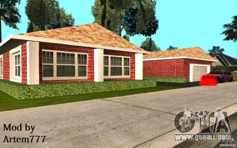 New textures home Millie for GTA San Andreas