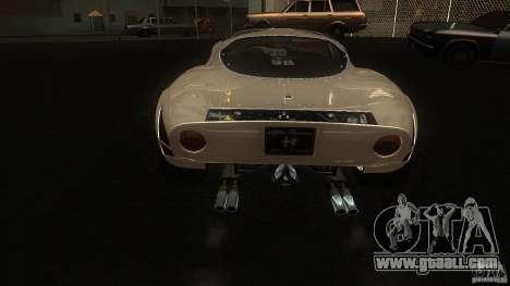 Alfa Romeo Tipo 33 Stradale for GTA San Andreas right view
