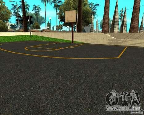 HQ basketball for GTA San Andreas second screenshot
