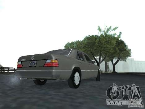 Mercedes-Benz 250D for GTA San Andreas right view