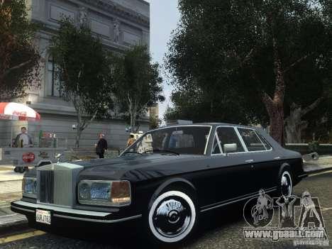 Rolls-Royce Silver Spirit 1990 for GTA 4