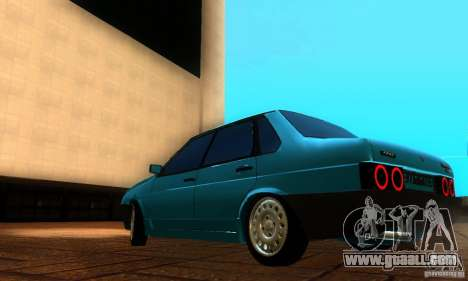 VAZ 21099 PROTOCOL for GTA San Andreas back left view