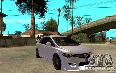 Honda Civic Mugen v1 for GTA San Andreas back view