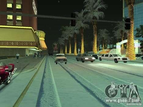 Snow v 2.0 for GTA San Andreas second screenshot