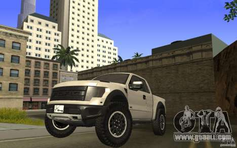 Ford F150 SVT RapTor for GTA San Andreas back left view