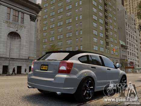 Dodge Caliber for GTA 4 left view