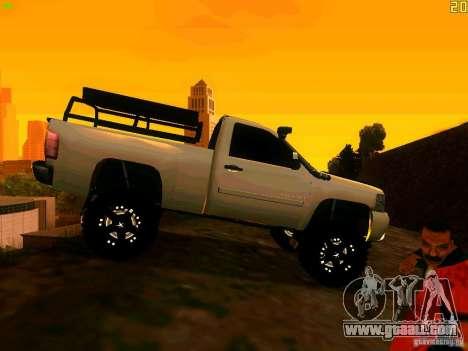 Chevrolet Silverado Final for GTA San Andreas right view