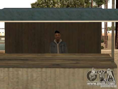 Market on the beach for GTA San Andreas second screenshot