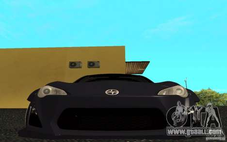 Scion FR-S for GTA San Andreas left view
