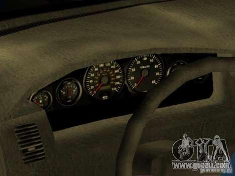 HD Kuruma for GTA San Andreas inner view