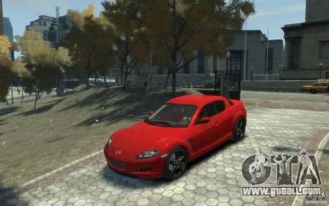 Mazda RX-8 (2006) for GTA 4