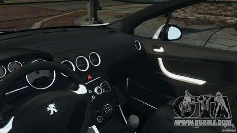 Peugeot 308 GTi 2011 Police v1.1 for GTA 4