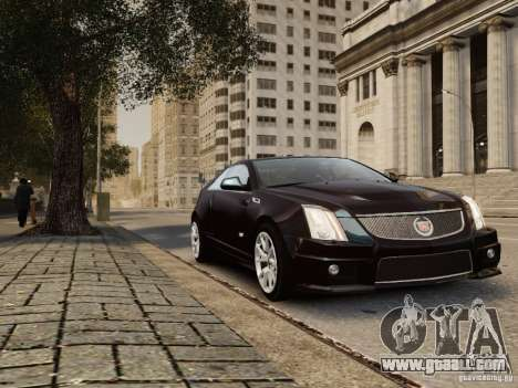 Cadillac CTS-V Coupe 2011 for GTA 4 right view