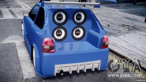 Chevrolet Corsa Extreme Revolution for GTA 4 interior