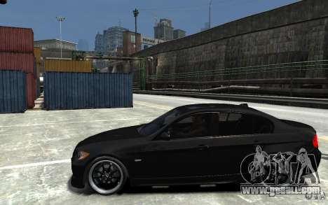 BMW 330i E60 Tuned 1 for GTA 4 left view