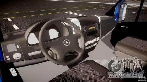 Mercedes-Benz ASM Sprinter Ambulance for GTA 4 back view