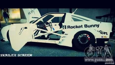 Nissan 380sx BenSpora for GTA 4 upper view