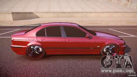 BMW M5 E39 Hamann [Beta] for GTA 4 side view