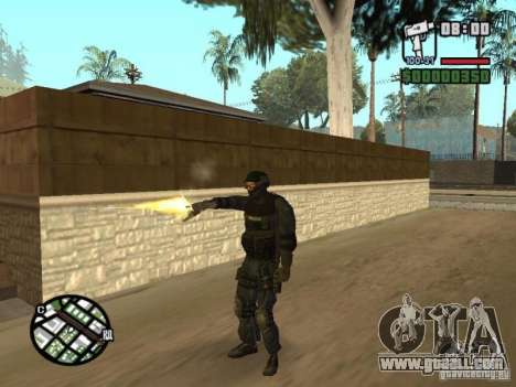 Commando of the SWAT 4 for GTA San Andreas forth screenshot