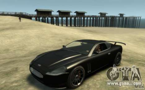 Aston Martin DB9 Super GTR beta for GTA 4