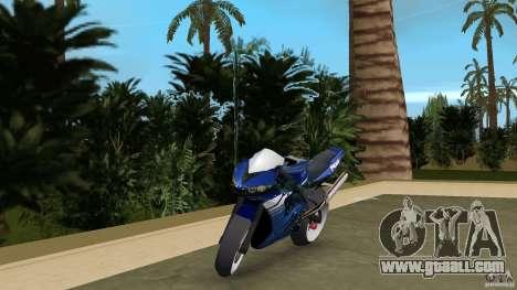 Yamaha YZF R6 2005 for GTA Vice City
