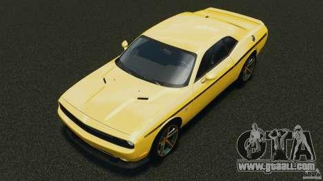 Dodge Challenger SRT8 392 2012 for GTA 4