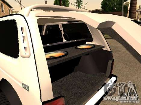 Armenian NIVA DORJAR 4 x 4 for GTA San Andreas side view
