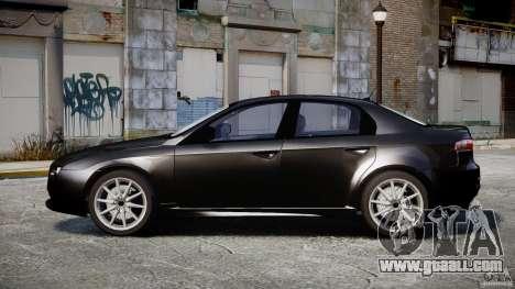 Alfa Romeo 159 Li v2 for GTA 4 back view