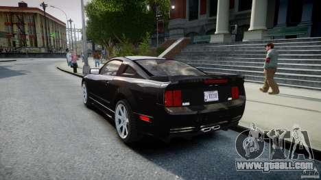 Saleen S281 Extreme Unmarked Police Car - v1.2 for GTA 4 back left view