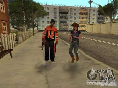 Any group of player 3.0 for GTA San Andreas