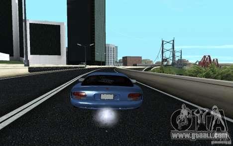 Dodge Viper GTS Monster Energy DRIFT for GTA San Andreas left view